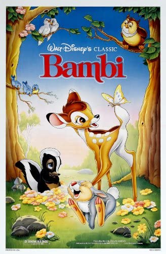 Bambi 1942 Dual Audio Hindi-English x264 Esubs Bluray 480p [228MB] | 720p [597MB] mkv
