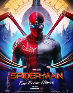 Spider Man Far from Home (2019) Dual Audio Hindi ORG-English Bluray 480p [454MB] | 720p 1080p mkv